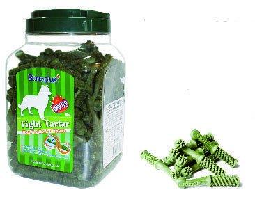 【愛狗生活館】英國Bone Plus螺旋動能雙刷頭/葉綠素高鈣雙色潔牙骨-三種口味三種尺寸家庭號【特價650元】
