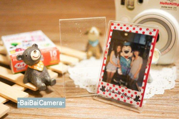 BaiBaiCamera 壓克力單 直立式透明相框 mini90 PD233 拍立得 空白 相片 底片 mini 8 50s 7s 25 90 mini8