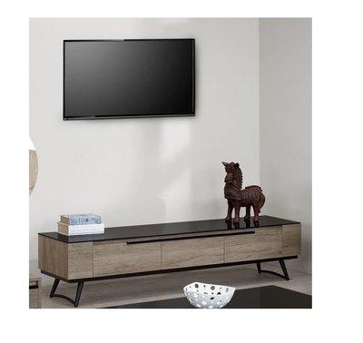 【zi_where】*賓華~6.5尺浮雕耐磨電視櫃/矮櫃/長櫃 $11200( 高雄市區免運)
