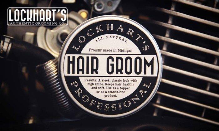 GOODFORIT / 美國Lockhart's Hair Groom清新柑橘佛手柑鬍髮雙用造型膏/4OZ