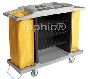 INPHIC-多用途房口車 多用途客房服務車 清潔車