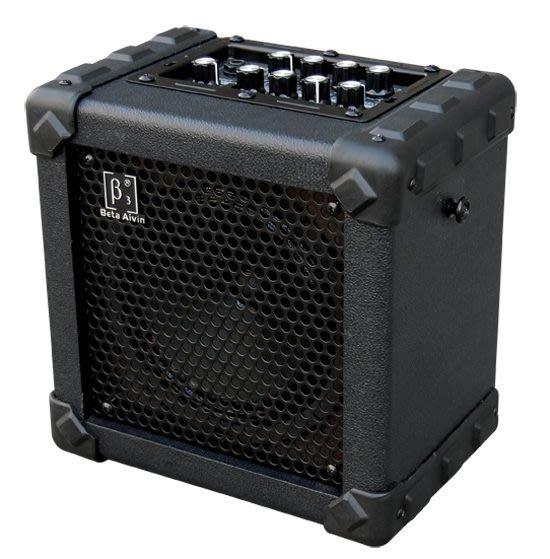 ☆ 唐尼樂器︵☆ Beta Aivin BM6 木吉他/電吉他音箱(可充電式,內建破音/ Delay/ Chrous 效果器)