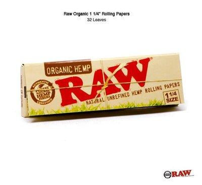 "GOODFORIT / 西班牙RAW® Organic 1 1/4"" Rolling Paper有機捲煙紙(32入)"