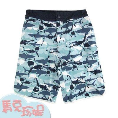 馬克珍妮~【C7089-105】男童泳褲 海灘褲 平口泳褲- 5T.8T