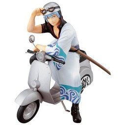 【紫色風鈴3】銀魂一番賞A賞坂田銀時笑顏保護者小綿羊摩托車 港版