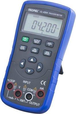 TECPEL 泰菱 》CL-420A  電壓電流校驗儀 程控校正器 輸出 測量DCA 校正器