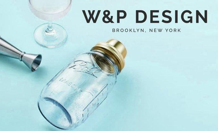 GOODFORIT / 紐約廠牌W&P Design Metallic Mason Shaker復古百年梅森罐雕花雪克杯