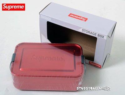 【超搶手】全新正品2018 SS Supreme Sigg Small Metal Box Plus工具收納盒 小鐵盒