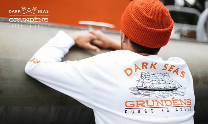 GOODFORIT / 美國Dark Seas x Grundens Heritage L/S排汗長袖上衣/兩色