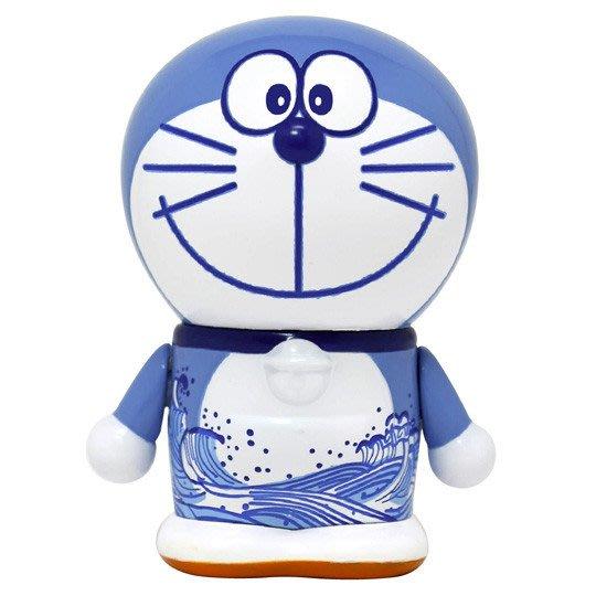 41+現貨免運費 哆啦A夢 公仔 和風系列 藍色 陶瓷工藝 360度無縫印刷 日本帶回  限定商品 小日尼三