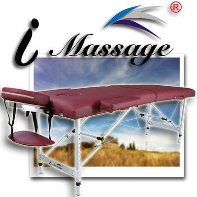 熱銷歐美 行動折摺疊按摩床 推拿床 美容床 美睫床整脊床 5公分海綿 通用多功能 上等鋁合金材質 i Massage m