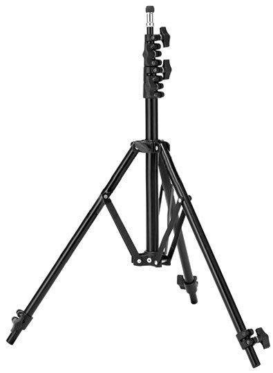 呈現攝影-Meking 220 五節反摺燈架 輕便燈架 燈腳架 高220 低62 外閃 棚燈 離機閃