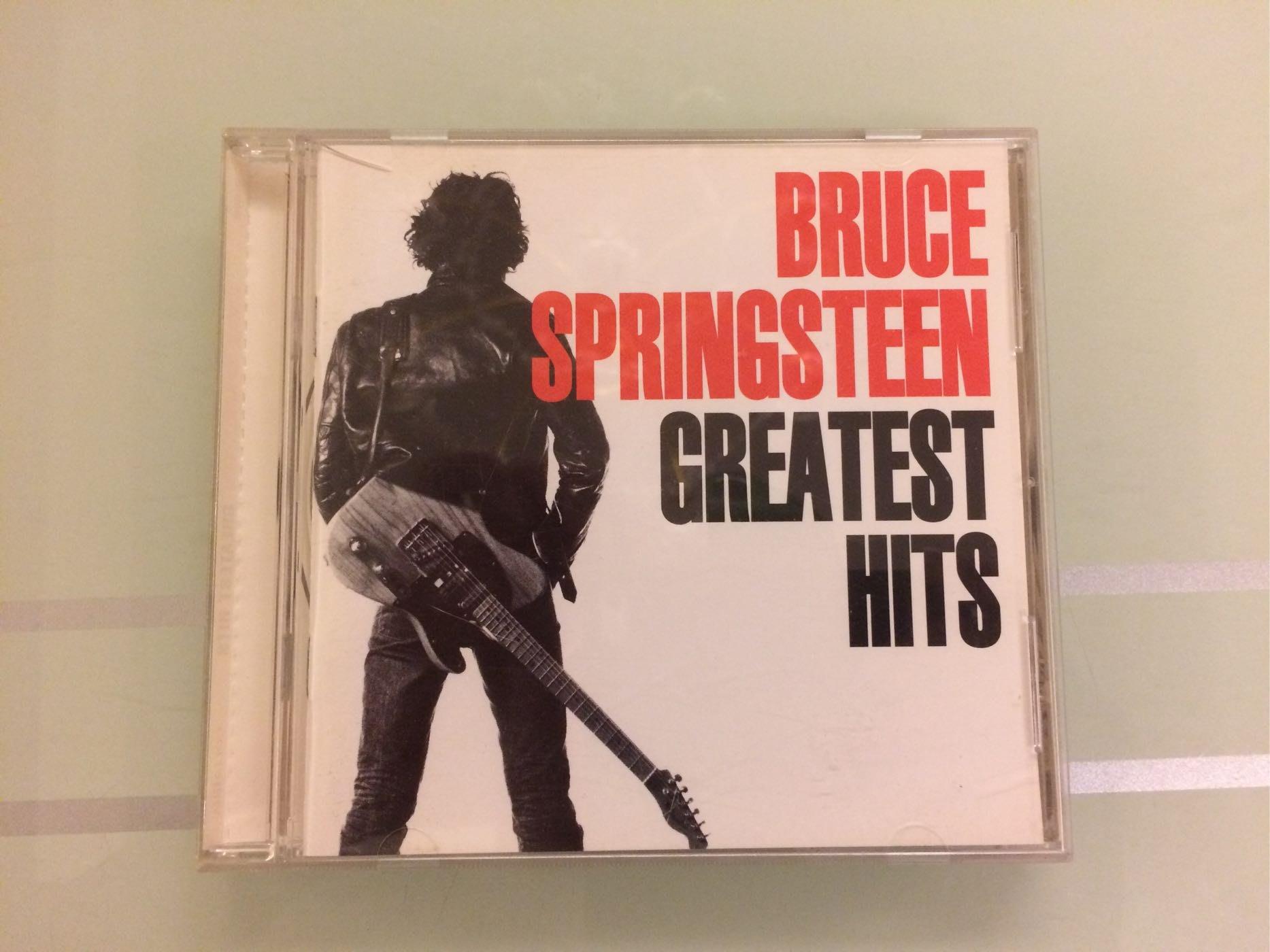 布魯斯史普林斯汀 GREATEST HITS 二手西洋CD