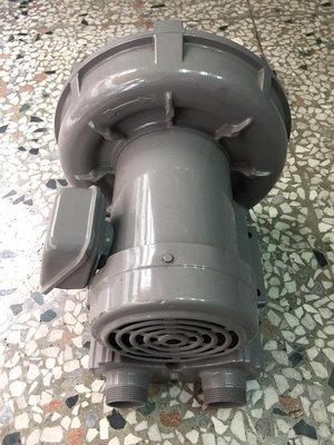 日本富士外匯整理品 1HP 三相 220V 高壓鼓風機 環形鼓風機 風鼓