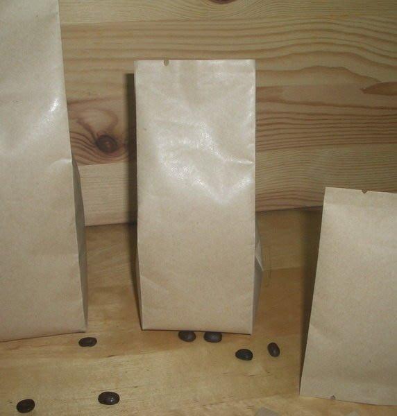 新材料_NB103_1/4磅_滑面淡色牛皮紙_空白包裝袋_精品豆_100~120克(100入)CandyMan