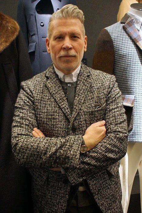 義大利高端品牌 Wooster+LARDINI 聯名款 羊毛西裝外套