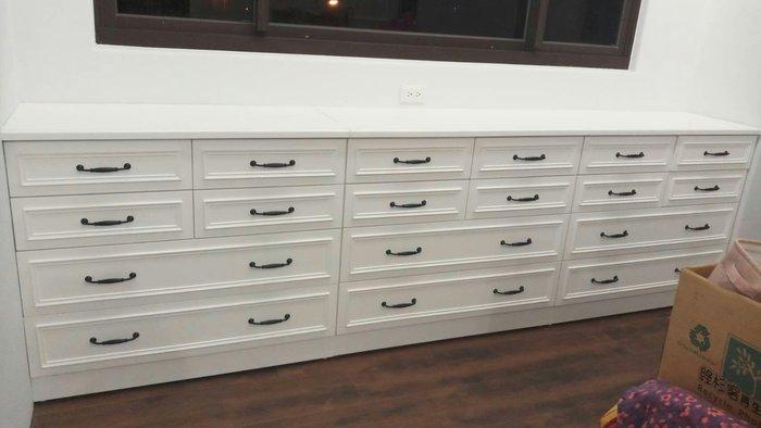 美生活館 美式鄉村家具訂製 客製化 斗櫃 收納櫃 系統櫃 寬 300公分 可依尺寸顏色再報價