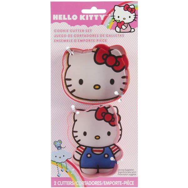 ~║IRIS Zakka║~ 美國 Wilton Hello Kitty 餅乾型模具 2入