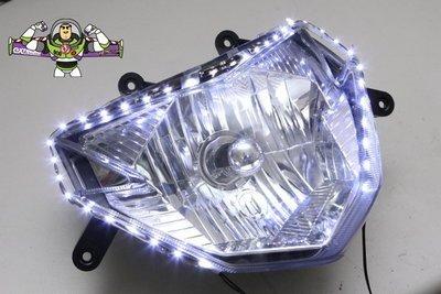 [極致工坊] 側燈條 爆亮 側發光 燈眉 LED燈 側發光燈條 門檻燈 腳踏板燈 氣氛燈 60顆 SMD LED