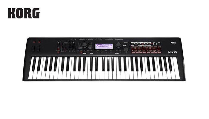 【現代樂器】免運!公司貨保固 KORG 全新2代 KROSS2 61鍵 合成器 keyboard