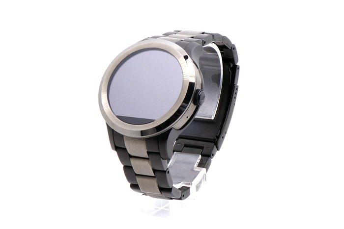【台中青蘋果】Fossil Q Founder系列觸控式智慧錶 FTW2117 黑 二手 智慧穿戴手錶 #26845
