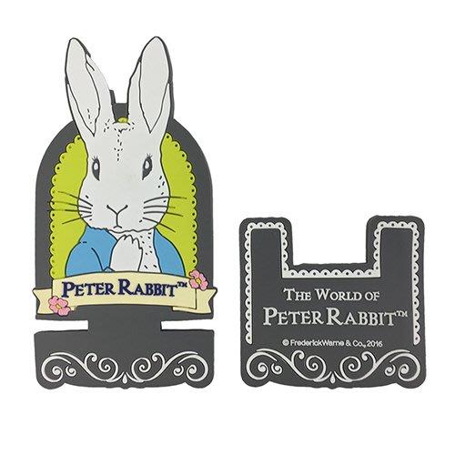 ~玫瑰物語~彼得兔比得兔橡膠手機座支架 立體雕花 不易髒好清洗英國比得兔 開店送禮民宿營業