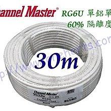 Channel~Master 9532W 白色30米裝 單鋁單網 2.2GHz 5C2V