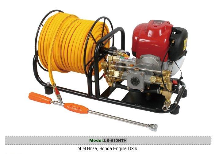 【川大泵浦】陸雄牌噴霧機 LS-910NTH 引擎手提式噴霧機 HONDA引擎 農用噴藥機 引擎動力噴霧機  台灣製造