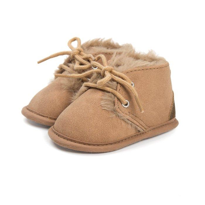 森林寶貝屋~淡咖啡休閒保暖鞋~學步鞋~幼兒鞋~寶寶鞋~嬰兒鞋~學走鞋~童鞋~綁帶設計~舒適~彌月贈禮~特價1雙175元