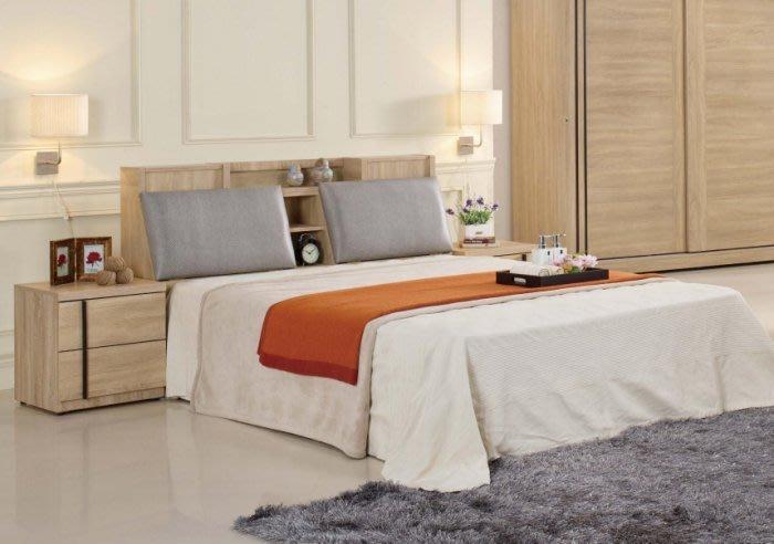 【DH】商品貨號N559-1商品名稱《約里特》5尺雙人床台/不含床頭櫃。台灣製可訂做。床頭箱可掀置物。主要地區免運費