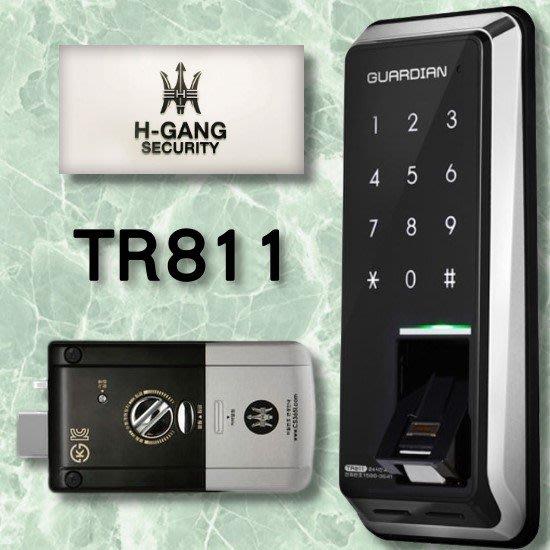 海強 H-GANG TR811 指紋鎖 3109 WF20 密碼鎖 6000 感應錀匙 電子鎖 1321 三星 718