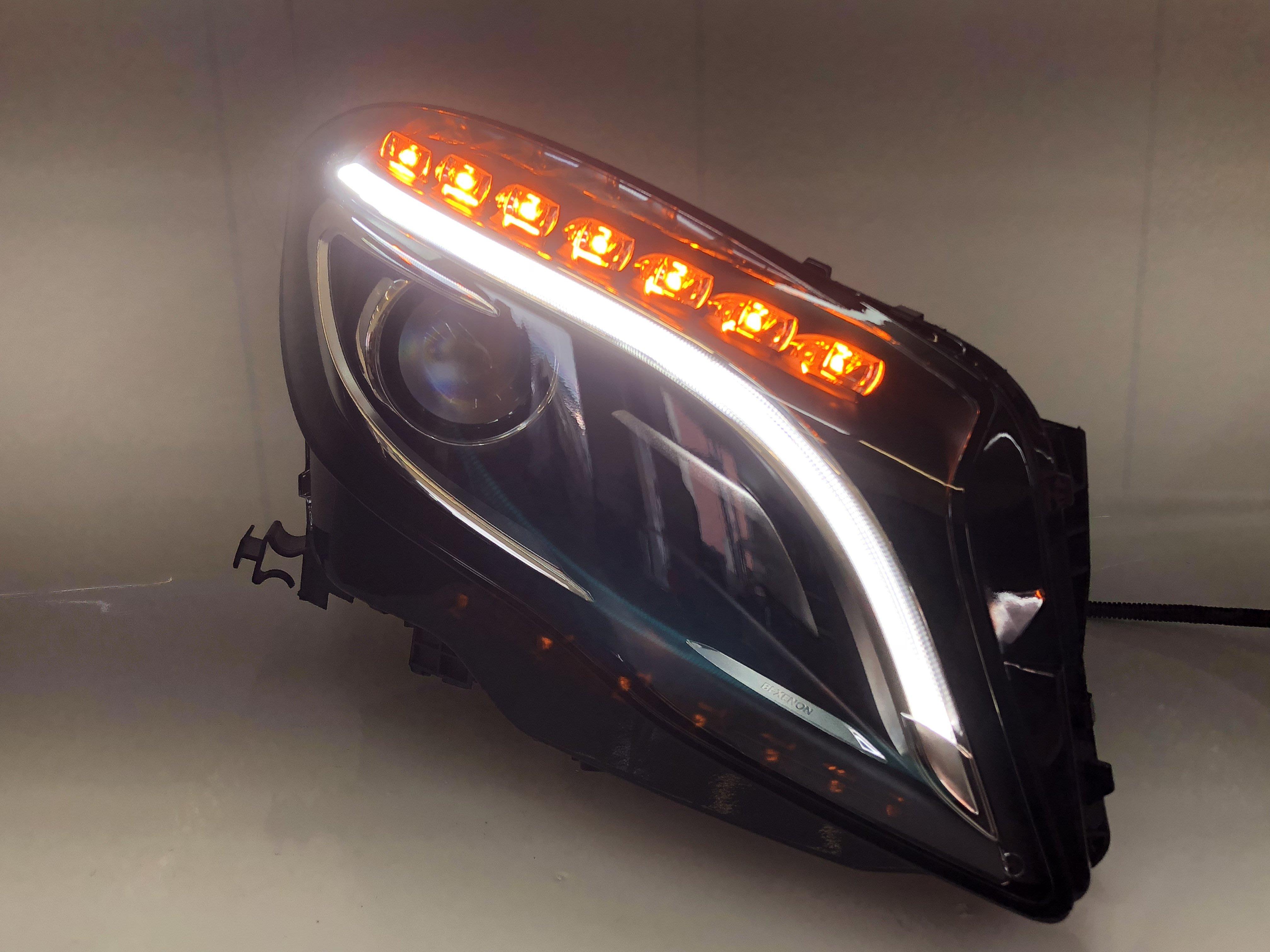 合豐源 車燈 GLA200 GLA250 GLA220 大燈 魚眼 導光 HID LED 日行燈 W156 X156