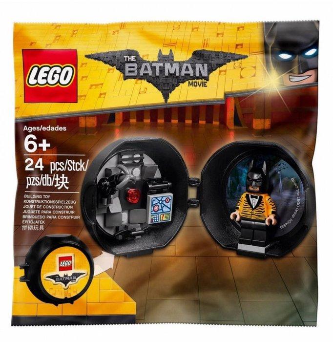 現貨【LEGO 樂高】2017 最新款 全新正品 積木/ 豹紋 蝙蝠俠 黑暗騎士 Batman 袋裝 5004929
