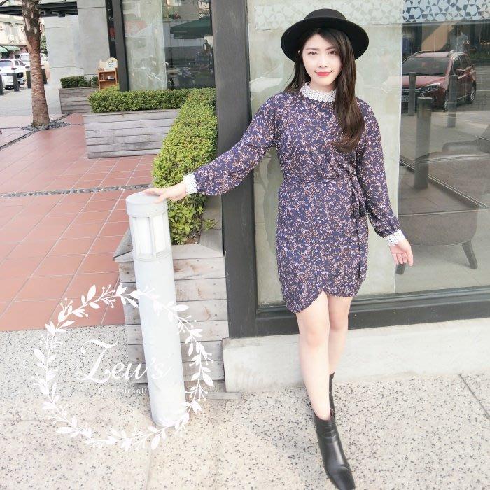 【ZEU'S】小氣質休閒復古洋裝『 05118901 』【現+預】E