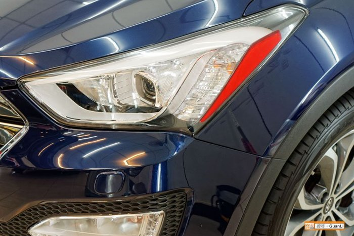 GuanLi 冠立 Santa Fe 直上 角燈(進口材質) 貼膜 diy Hyundai 現代 山土匪