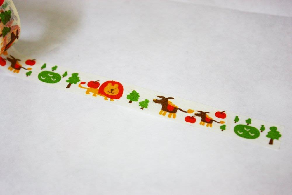 【R的雜貨舖】紙膠帶分裝 金音(知音) 動物之森
