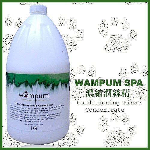 *WANG *【 WAMPUM SPA 】一加侖洗毛精