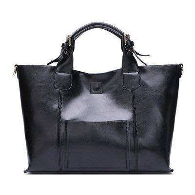 手提 包 真皮 肩背 包-簡約純色時尚大方女包包4色73se3[獨家進口][米蘭精品]