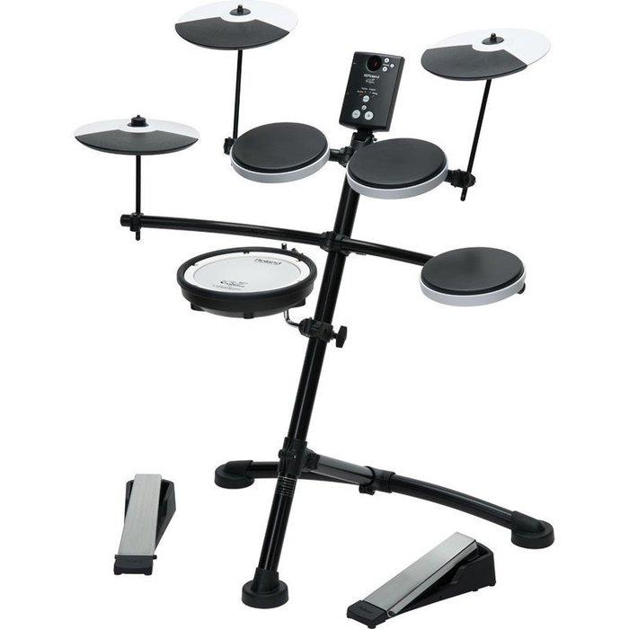 【六絃樂器】全新 Roland TD-1KV 電子鼓 可打鼓邊 網狀小鼓面 超值選擇 / 現貨特價 全省免運