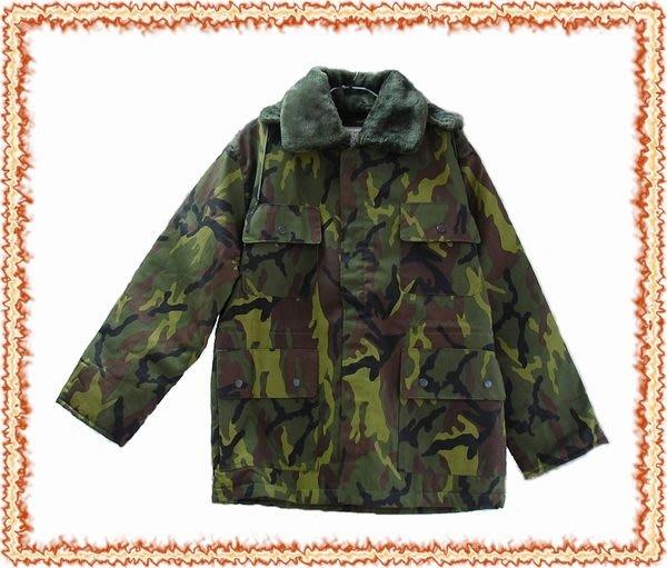 外套~軍旅風迷彩連帽軍裝外套