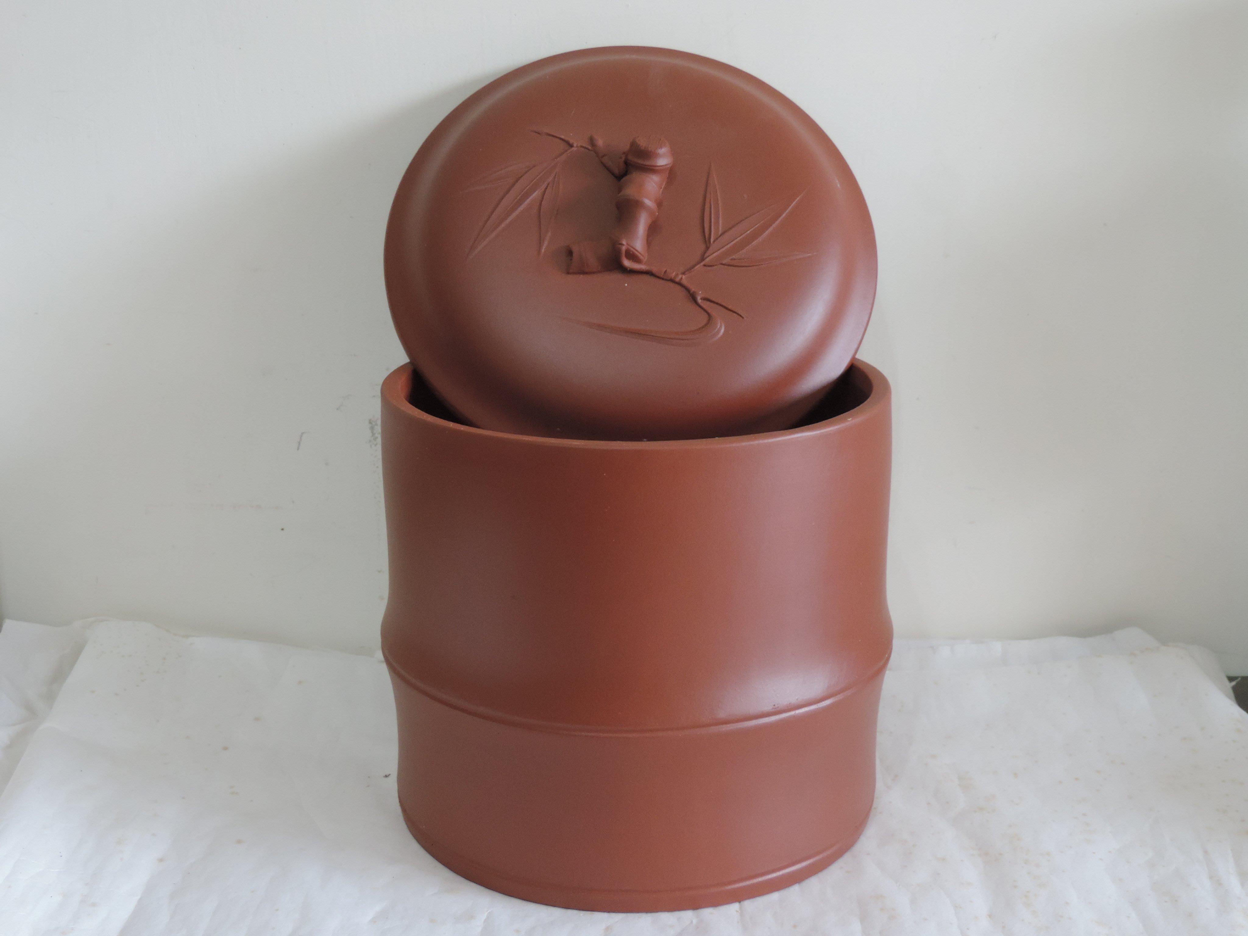 丁香之家--紫砂(竹)茶葉罐