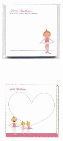 芭蕾小棧生日畢業表演禮物日本進口Little Ballerina可愛文具便利貼隨意貼舞者