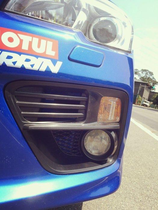 ☆光速改裝精品☆ Subaru  速霸陸  2014~2017 WRX  STI  12代 保桿專用 霧燈框 霧燈蓋