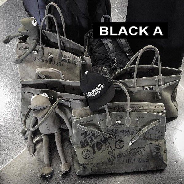 【BLACK A】獨家 日本細川雄太READYMADE Birkin 35/43/50 軍布包