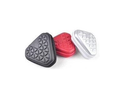 monster 魔聲耳機包 品質佳 耳機包 耳塞包 硬殼 附件包 藍牙耳機收納包 雜物包  三角形 零錢包