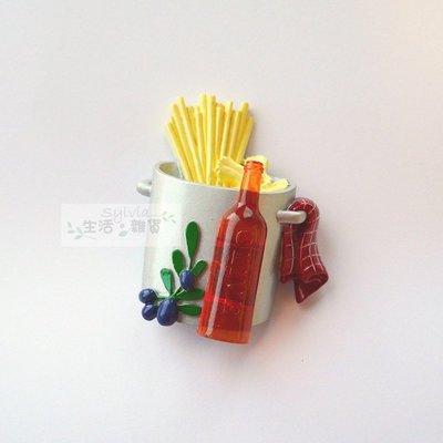 ❤生活。雜貨❤易付免運 橄欖 義大利麵 毛巾 afternoon tea 冰箱磁鐵 吸鐵 精緻 現貨《橄欖義大利麵桶》