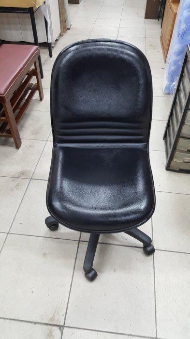 二手家具 台中 樂居全新中古傢俱買賣 F1217EJ7*黑皮oa辦公椅 書桌椅 電腦椅*2手桌椅拍賣 會議桌椅 餐桌椅