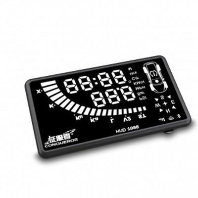 附發票 征服者 HUD-1088 抬頭顯示器/測速器 單機版 』GPS定位/WIFI更新/雲端服務/六吋面板/APP 1