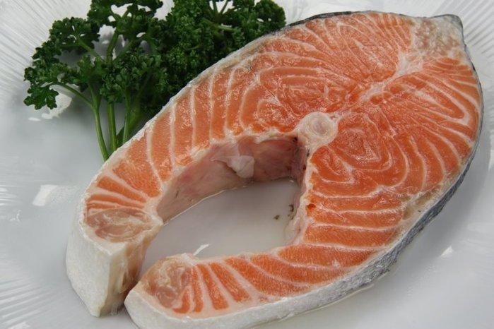 【萬象極品】鮭魚切片(厚切) /385g±10g~肉色紅潤肉質鮮嫩肥美口感滑順 ~