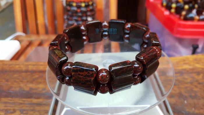 西藏瑪卡天珠材質手排手珠天然純淨老礦新採 磁場乾淨 能量強 【東大開運館】